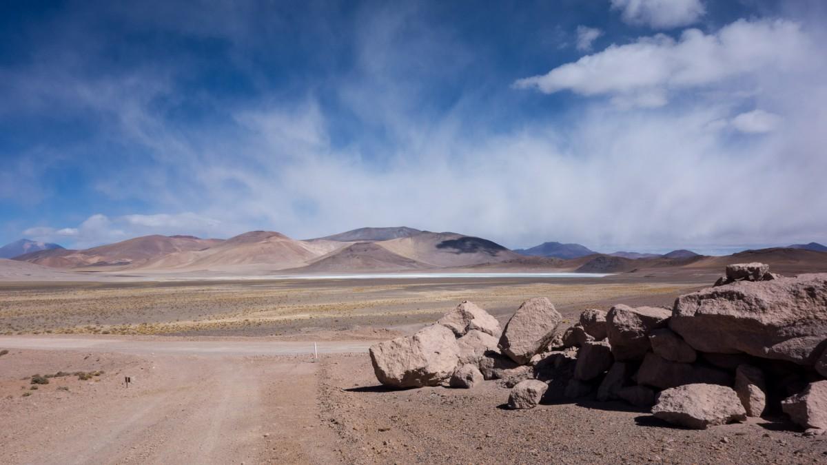Désert des Andes, sur la route du col Sico