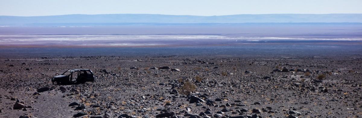 Victime du désert d'Atacama